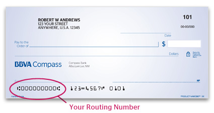 Bbva Compass Routing Number And Swift Code American Credit Center