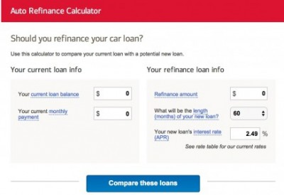 Auto refinance calculator from bank of america | best car specs.