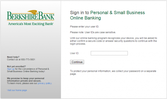 bank of america online banking sign in personal