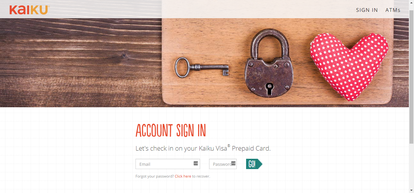 step 3 in case you lose your password you only need to click on the click here button on the above page the system will take you to a page where you - Kaiku Visa Prepaid Card
