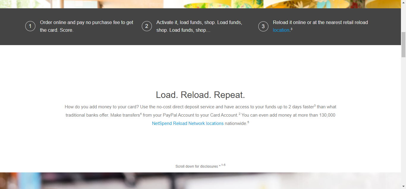 load funds into your card the homepage has a section that allows you to pick out the geographical site of the retail reload location or netspend reload - Load Prepaid Card Online